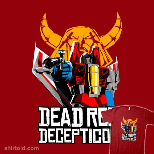 Dead Red Decepticon