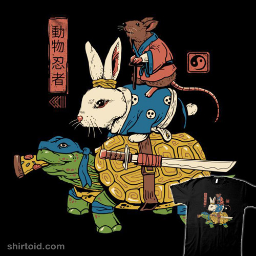 Kame, Usagi and Ratto Ninjas