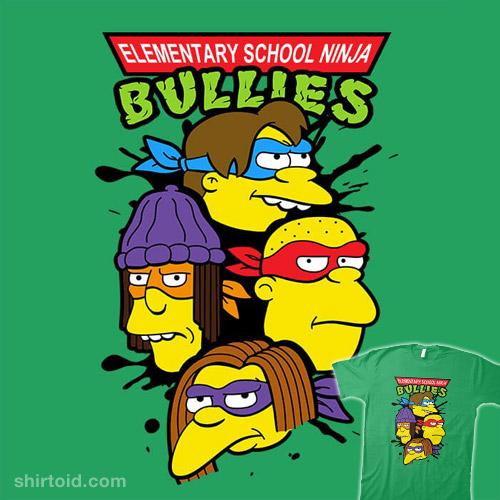 Elementary School Ninja Bullies