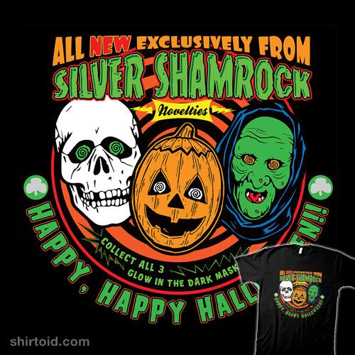Silver Shamrock Halloween Ad