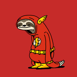 ★ Sloth the Flash – only at TeePublic! ★