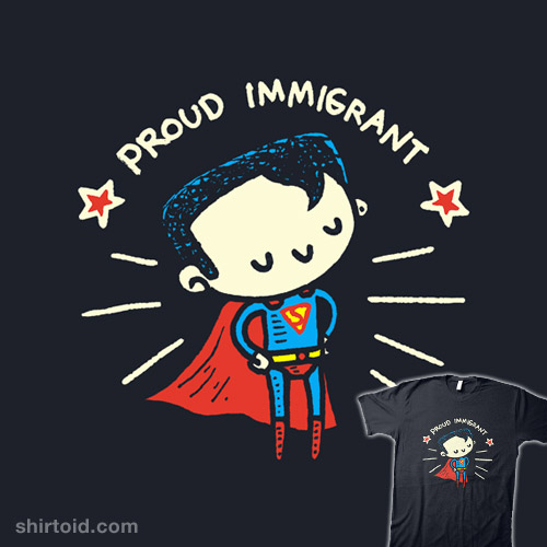 It's Not a Bird, It's a Proud Immigrant