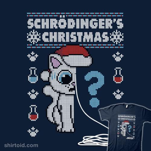 Schrödinger's Christmas! – Ugly Christmas Sweater