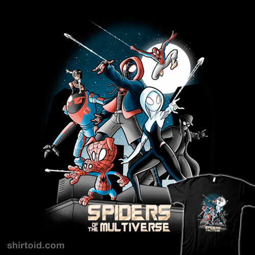 Spiders of the Multiverse