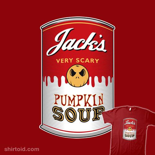Very Scary Pumpkin Soup
