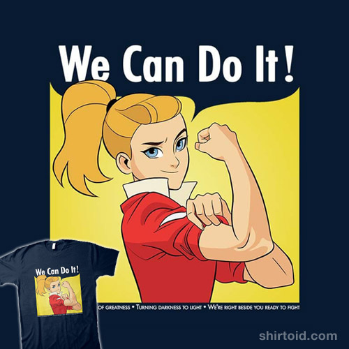 Adora Says We Can Do It!