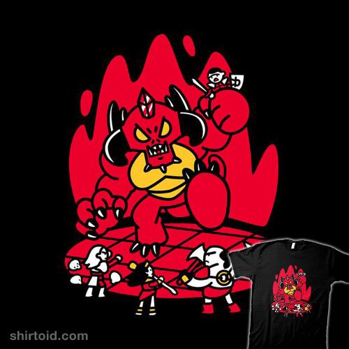 Chibis battle Diablo!