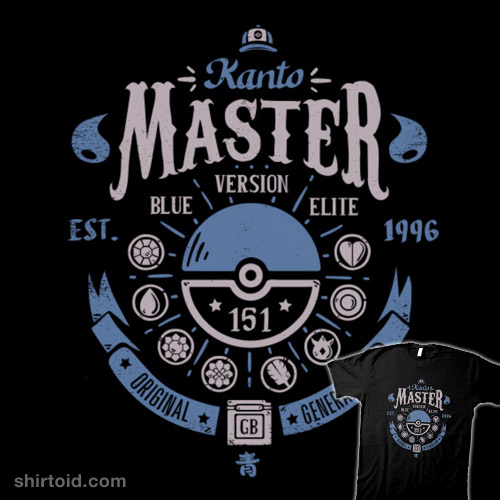 Kanto Master (Blue Version)