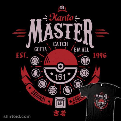 Kanto Master (Red Version)