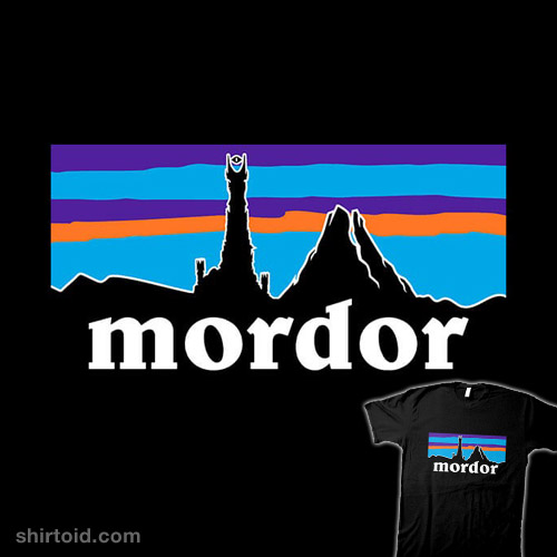 322e8f4fd Mordor | Shirtoid