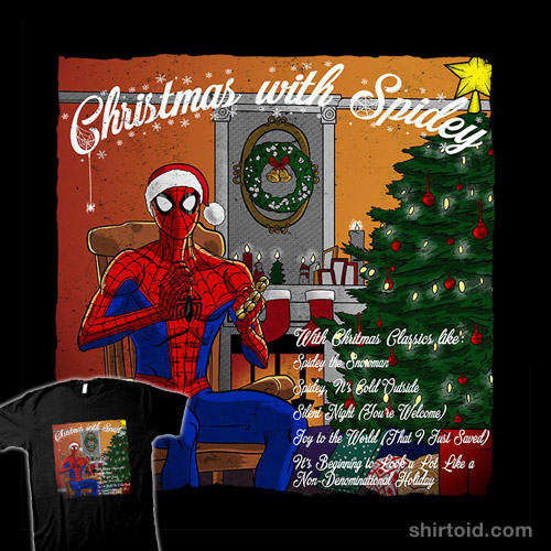 Spidey Christmas Album