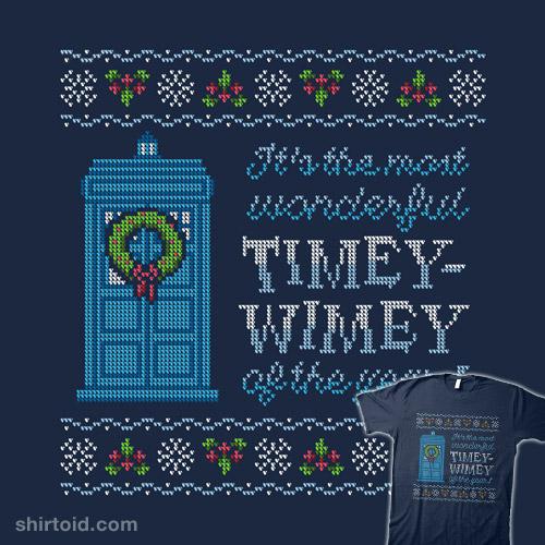 Timey-Wimey Sweater