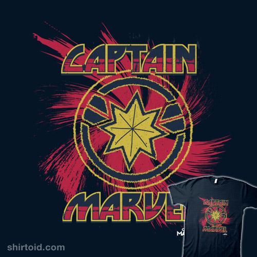 Captain Marvel Logo Swirl