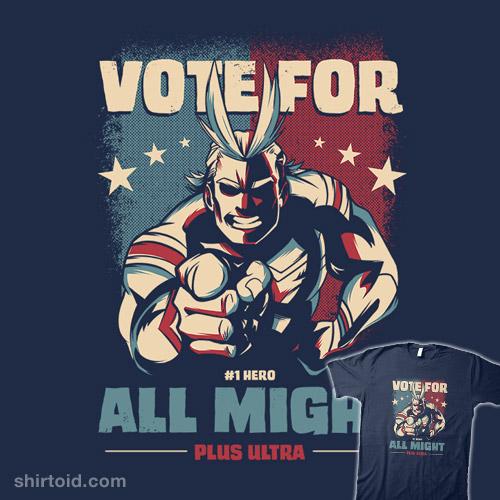 Vote for Plus Ultra!