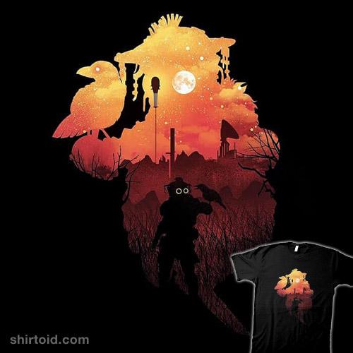 Bloodhound Sunset