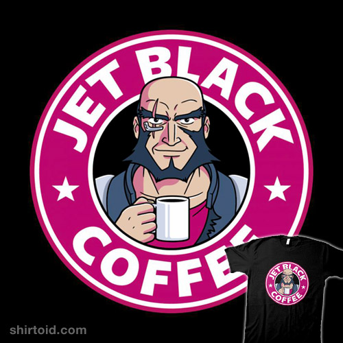 Jet Black Coffee