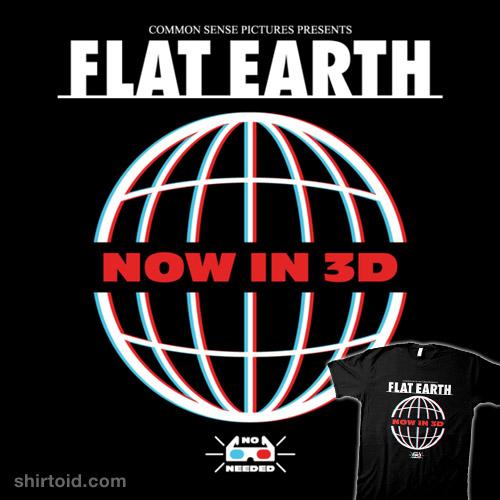 Flat Earth 3D