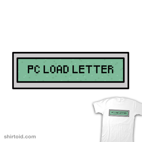 PC Load Letter