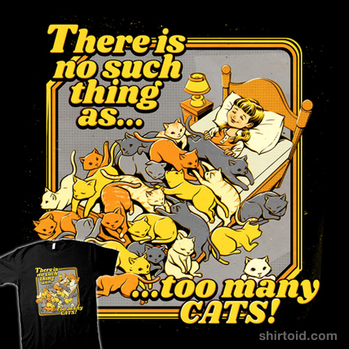 There is no such a thing as too many cats