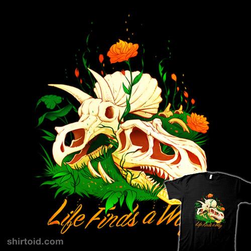 Prehistoric Skull Flower Life
