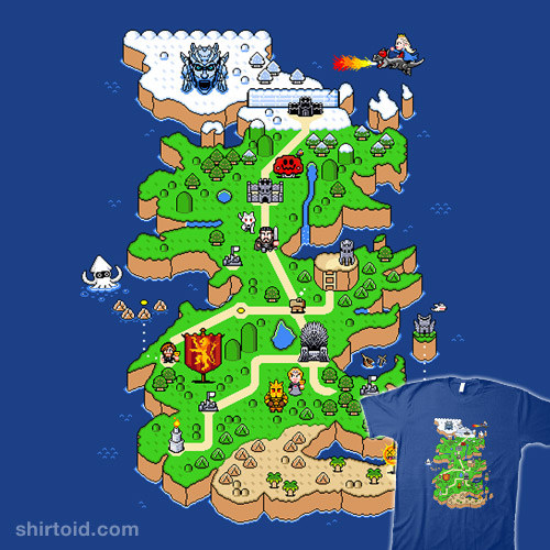Super Thrones World | Shirtoid