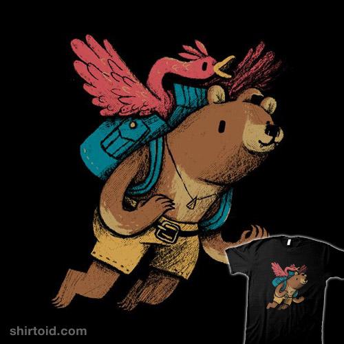 flight of the honey bear