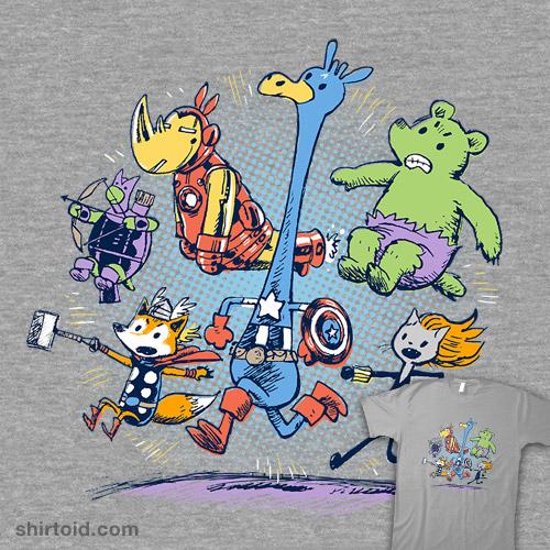 Animals Assemble!