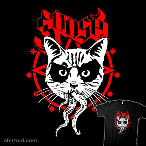 Black Metal Cat