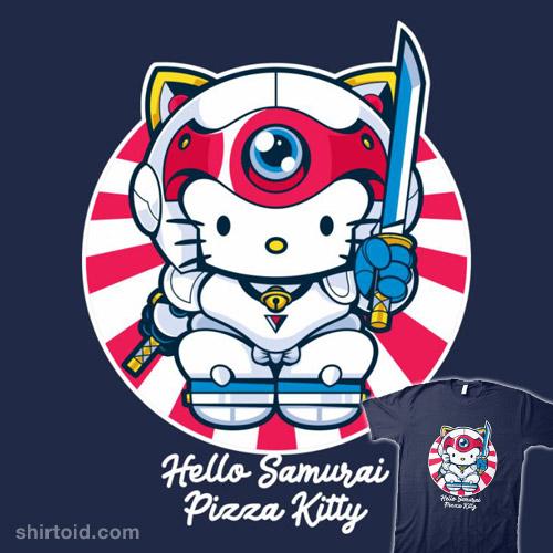 Hello Samurai Pizza Kitty