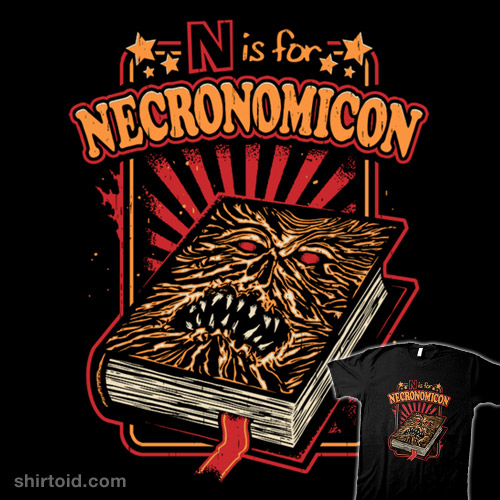N is for Necronomicon