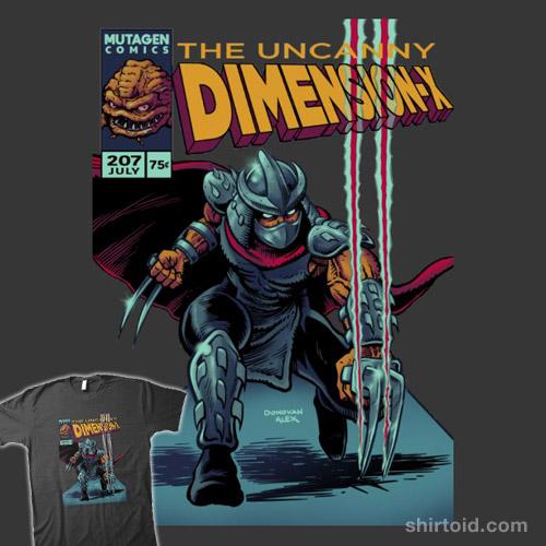 The Uncanny Dimension-X