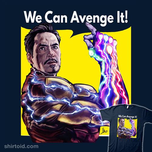 We Can Avenge It!
