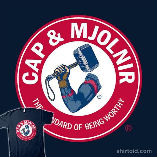 Cap & Mjolnir