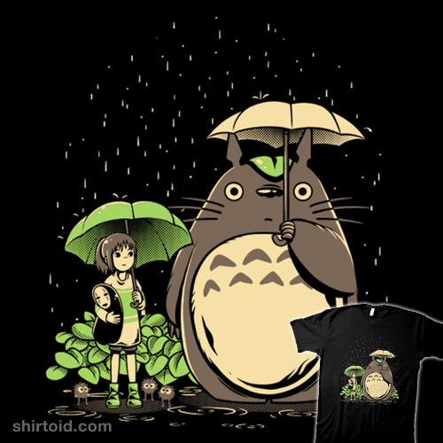 Chihiro and Totoro