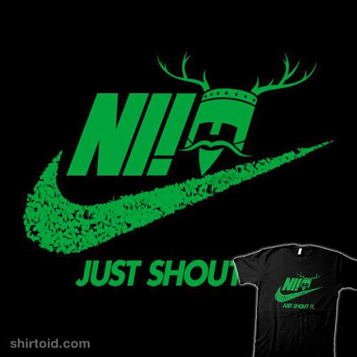 Just Shout It
