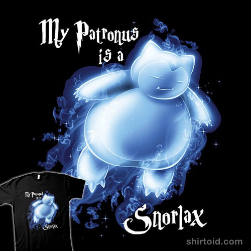 My Patronus is a Snorlax