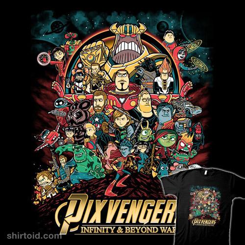 Pixvengers: Infinity & Beyond War