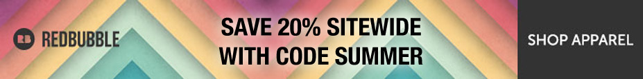 Take 20% off Sitewide at Redbubble, with code SUMMER