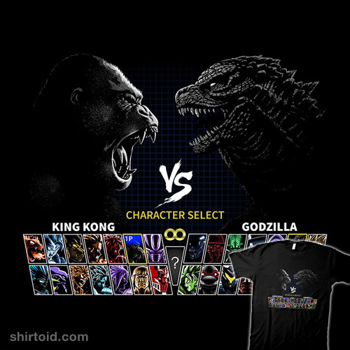 Select King vs. King of Monsters