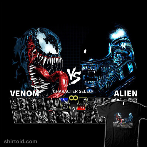 Select Venom vs. Alien