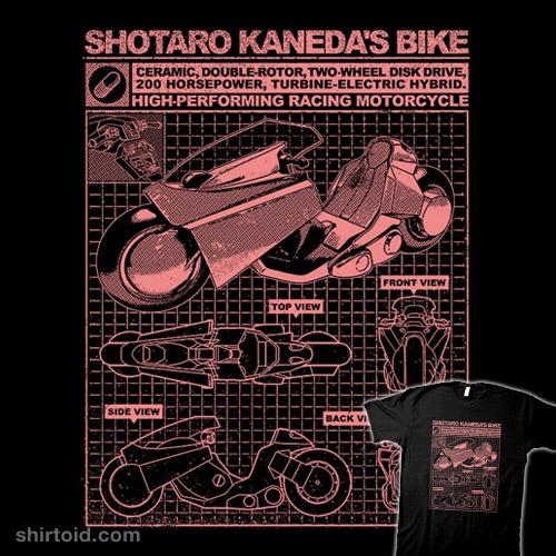 Shotaro Kaneda's Bike