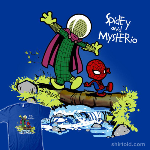 Spidey and Mysterio