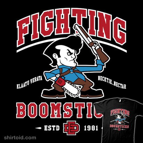 Fighting Boomsticks