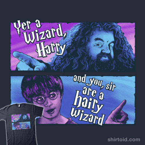Hairy Wizard (purple-blue variant)