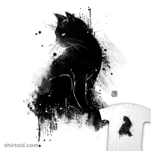 Inky cat