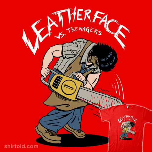 Leatherface vs. Teenagers