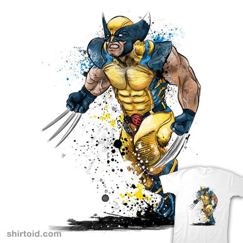 Mutant Rage Watercolor
