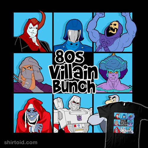 80s Villain Bunch