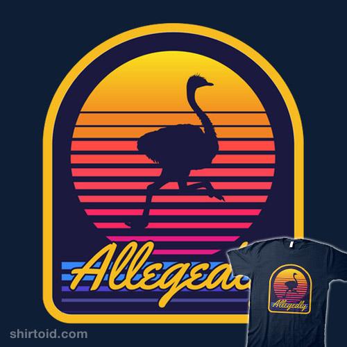 Allegedly Ostrich