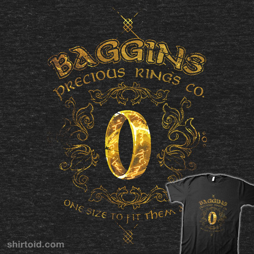 Baggins Precious Rings
